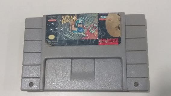 Jogo Super Nintendo Speed Race Original - Frete Grátis