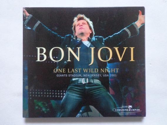 Bon Jovi - One Last Wild Night Usa 2001 (cd)