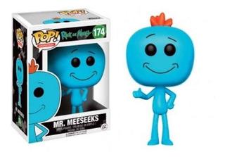 Funko Pop Rick And Morty 174 Mr. Meeseeks Envio Gratis Caba
