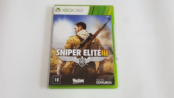 Sniper Elite 3 - Xbox 360 - Original - Midia Fisica