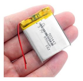 Bateria Gps 850 Mah 3.7v Com 2 Fios