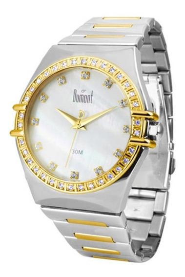 Relógio Feminino Misto Dumont Sx75018b