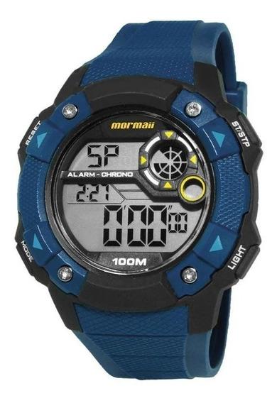 Relógio Masculino Mormaii Mogre1360b/8a Digital Azul