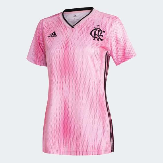 Camisa Flamengo Feminina Rosa 2019 Edição Especial Oficial