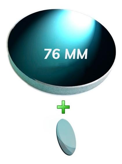 Kit Espelho Telescópio Refletor Primário 76mm + Secundário - Skylife Marca Especialista Em Produtos Astronômicos