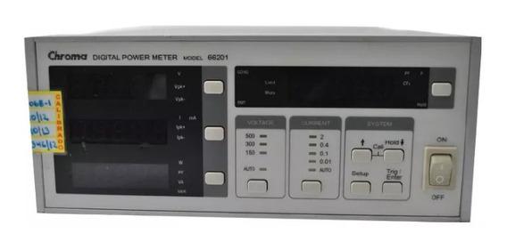 Chroma 66201 Digital Power Meter 2a/1kw