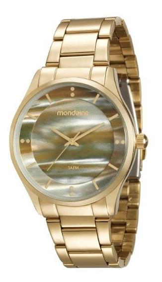 Relógio Mondaine Feminino Dourado - 34499