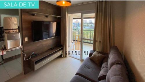 Apartamento Com 3 Dormitórios À Venda, 72 M² Por R$ 550.000 - Jardim - Santo André/sp - Ap2001