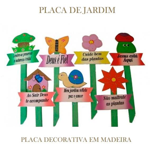 10 Placas Decor Casa E Jardim - Piscina E Churrasco