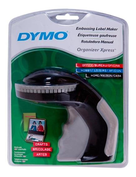 *kit Rotulador Dymo Manual Xpress + Fita Preta Extra