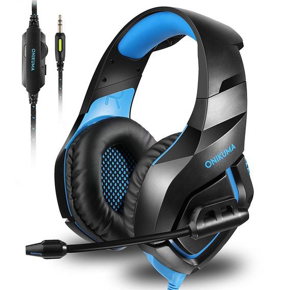 Onikuma K1 Gaming Over-ear Headset 3.5mm Stereo On-ear Fones