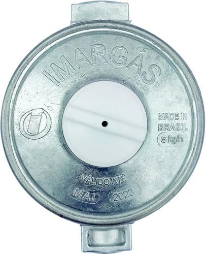 Registro Gás Regulador Válvula Click Imar 5 Kg/h