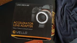 Adaptador Para Lentes Nikon F A Montura E De Sony