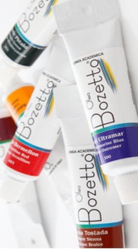 Oleos Bozzeto X 6 De 50 Ml Cada Tubo Colores A Elección