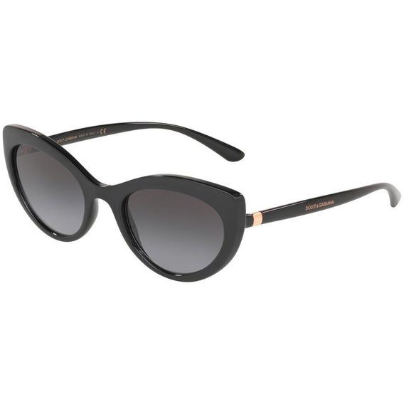 Dolce & Gabbana Dg6124 501/8g 53 - Preto/cinza Gradiente