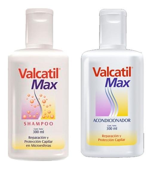 Combo Valcatil Max - Shampoo 300ml + Acondicionador 300ml