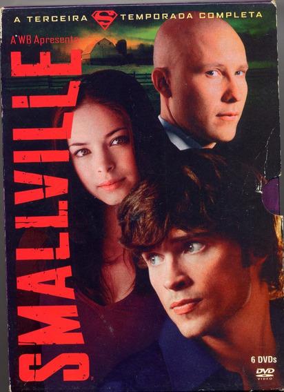 Dvd - Smallville 3ª Temporada - 6 Dvds