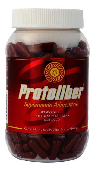 Protoliber Frasco Con 250 Cápsulas