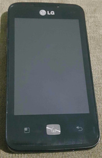 Celular Lg-e510 Android 4.4 Funcionando Sem Fonte Com Sd 2gb