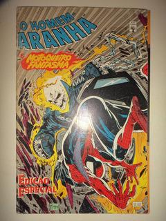 Homem Aranha & Motoqueiro Fantasma Editora Abril 1993