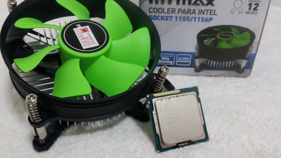 Processador I3 2100 Ou 2120 Socket 1155 3.1ghz + Cooler