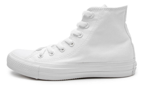 Tenis All Star Converse Monochrome Hi Preto E Branco