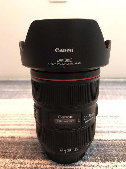 Lente Canon Ef 24-70 Mm F/2.8 L Ii Usm