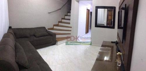 Imagem 1 de 20 de Sobrado Com 3 Dormitórios À Venda, 110 M² Por R$ 393.000 - Dos Casa - São Bernardo Do Campo/sp - So1559