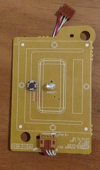 Placa Power Key Lg Chave Power Cm9940 / Cm9740 Ebr77855701