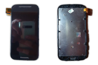 Frontal Tela Touch Display Lcd Moto E1