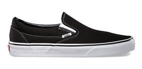 Tênis Vans Slip On Black - Original + Nf