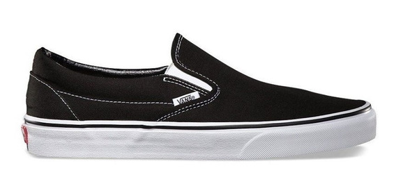 Tênis Vans Slip On Black - Original + Nf
