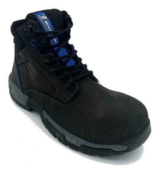 Zapato Michelin Hydroedge Casco-poli Gris Oxford Hombre