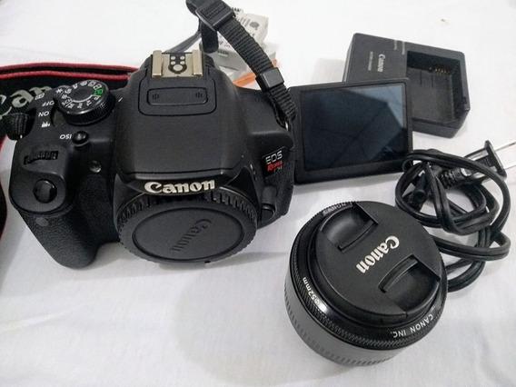 Câmera Canon Eos Rebel T5i (poucos Cliks)