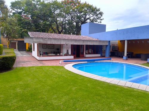 Imagen 1 de 9 de Casa En Privada En Rancho Cortes, Cuernavaca, Morelos