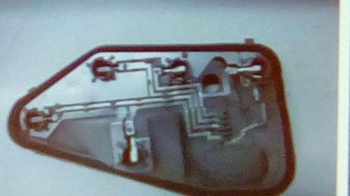 Portalamparas Tras Derecho Fiat Palio 96/99 Circuito Impreso