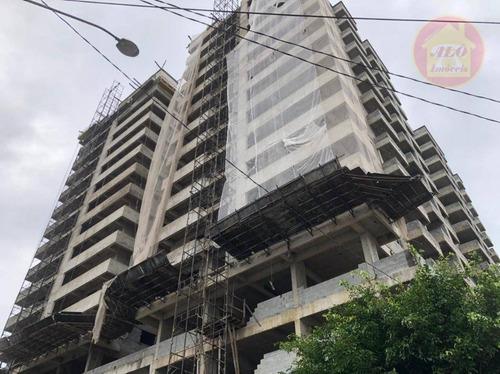 Apartamento À Venda, 79 M² Por R$ 339.000,00 - Caiçara - Praia Grande/sp - Ap5891