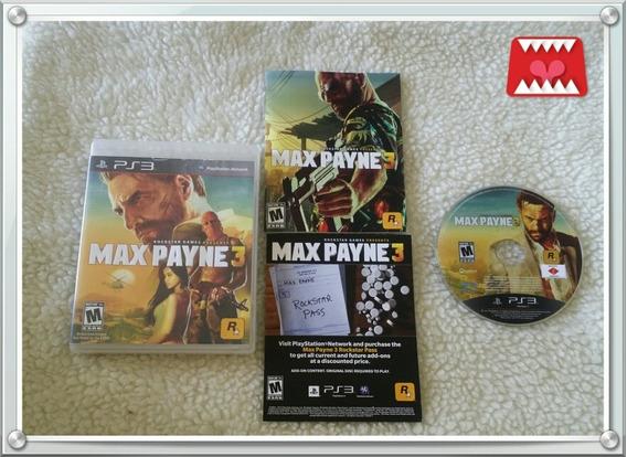 Jogo Max Payne 3 Playstation 3 Ps3 Mídia Física