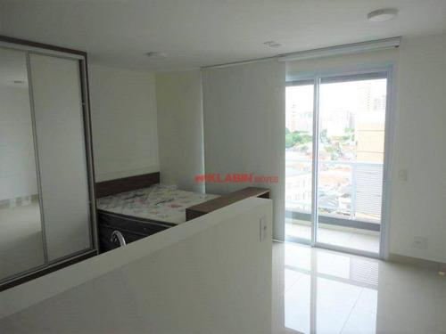 Imagem 1 de 25 de #=apartamento Studio Com 1 Dormitório Para Alugar, 30 M² Por R$ 2.000/mês - Perdizes - São Paulo/sp.!! - Ap10306