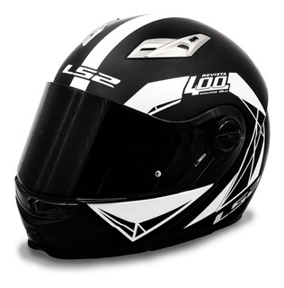 Casco Abatible Ls2 Con Lentes Humo Rider One