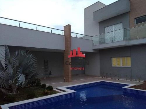 Imagem 1 de 20 de Casa Com 4 Dormitórios À Venda, 236 M² Por R$ 1.270.000,00 - Residencial Imigrantes - Nova Odessa/sp - Ca2177