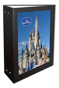 Album Castelinho Disney Preto 10x15-360 Fotos + 1 Brinde