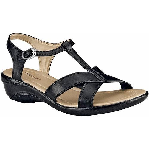 Sandalias Para Dama Padus S-953 Negro P19a