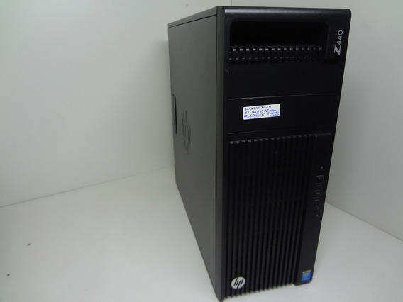 Workstation Hp Z440 Xeon Hexa Core 32gb Ddr4 Ssd 480gb + Hd
