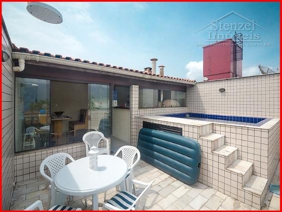 Apartamento Cobertura Para Alugar No Maitinga Em Bertioga - Ap00119 - 32016198