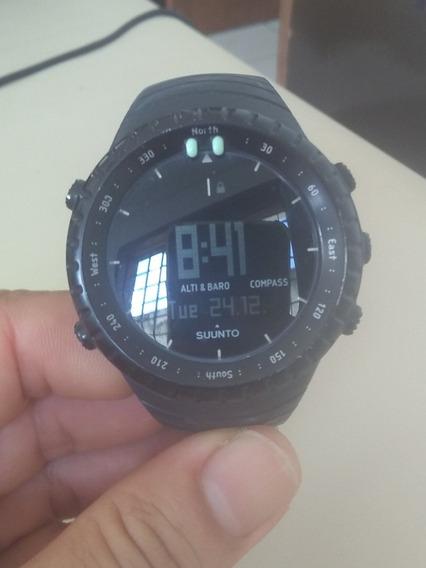 Relógio Suunto Core Black + Bateria Reserva.