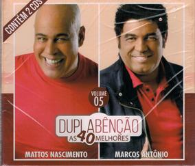 Cd Dupla Benção - Mattos Nascimento E Marcos Antônio / Vol 5