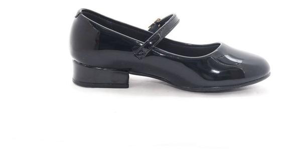 Sapato Infantil Feminino Estilo Boneca Confortavel