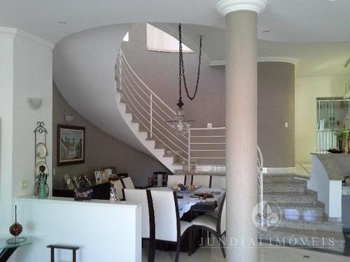Vendo Linda E Confortável Casa No Jardim Messina Em Jundiaí, 03 Suítes, Escritório, 4 Salas, Cozinha Planejada, 4 Vagas, Depósito. - Ca00009 - 2451627