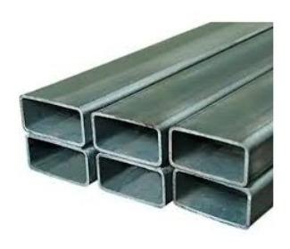 Tubo Hn 80 X 40 X 2.5 Mm X 6 Mt Estructural